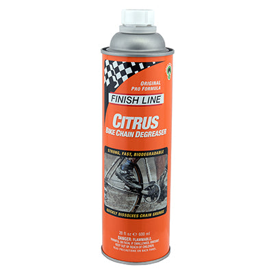 FINISH LINE CLEANER F-L CIT DEGREASER-20oz POUR BOTTLE 6/cs