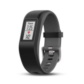 Garmin vívosport Watch Watch Color: Slate/ Grey Wristband: Slate - Silicone - S 010-01789-10