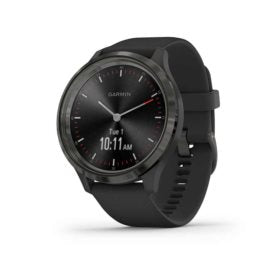 Garmin vivomove 3 Watch Watch Color: Slate Wristband: Black - Silicone 010-02239-01
