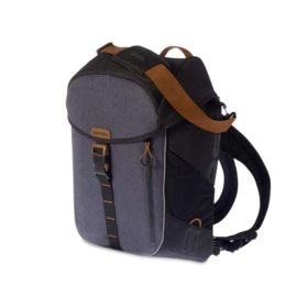 Basil Miles Daypack Day Pack Black Slate