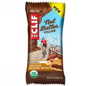 Clif Nut Butter Filled Bars Chocolate/Peanut Butter 12pcs