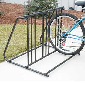 Hollywood Racks PS6 Parking Rack Bikes: 6 Type: On the floor Black