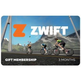 Zwift Membership card 3 months