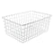 WALD PRODUCTS BASKET WALD 1275WH 21x15x9 WH NO/HDWR NOBANDS