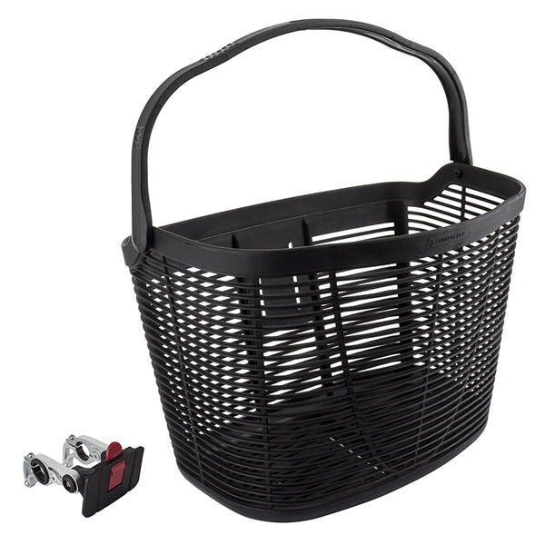 SUNLITE BASKET SUNLT FT PLASTIC Q/R BK w/HANDLE 22.2/31.8 w/DLX ALY BRACKET