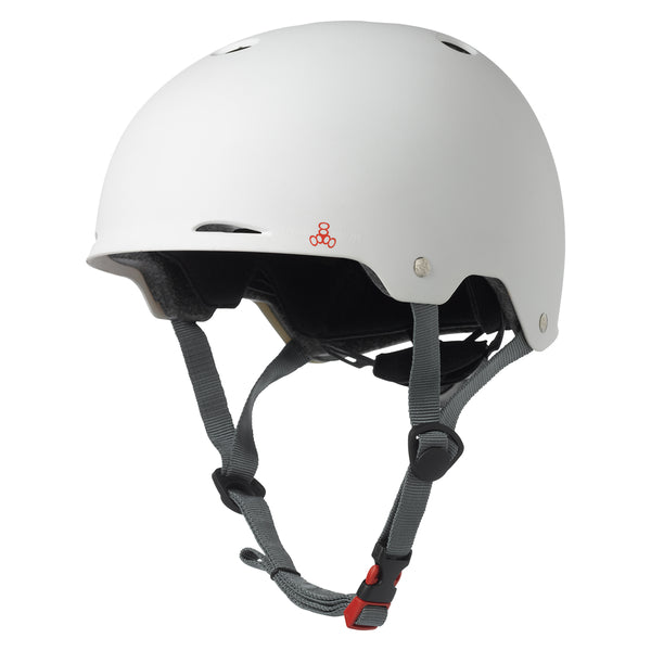 TRIPLE EIGHT HELMET TRIPLE8 GOTHAM DUAL CERT LG-XL WHw/CONEHEAD EPS