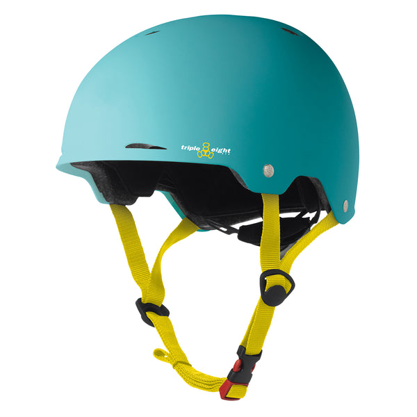 TRIPLE EIGHT HELMET TRIPLE8 GOTHAM DUAL CERT SM-MD TEAL w/CONEHEAD EPS
