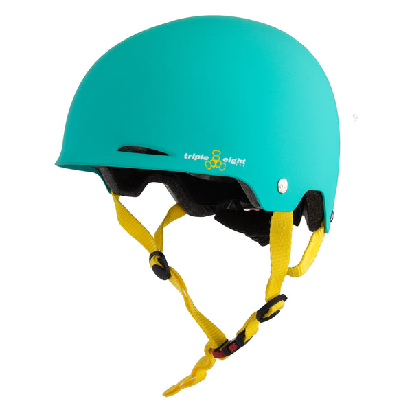 TRIPLE EIGHT HELMET TRIPLE8 GOTHAM DUAL CERT XS-SM TEAL w/CONEHEAD EPS