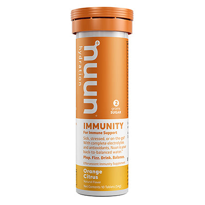 NUUN FOOD NUUN IMMUNITY ORANGE CITRUS BX OF 8