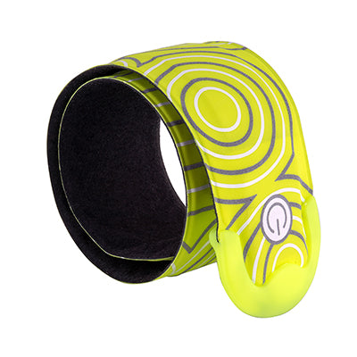 NITE IZE CLOTHING LEG BAND NITEIZE SLAPLIT RECHARGEABLE LED SLAP WRAP N-YL w/GN-LED