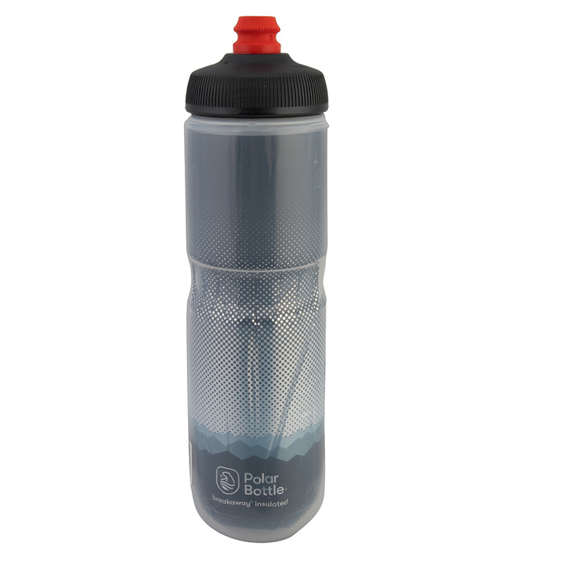 POLAR BOTTLE POLAR BREAKAWAY INSULATED 24oz RIDGE CHARCOAL/SL