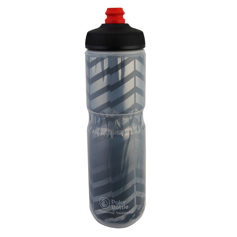 POLAR BOTTLE POLAR BREAKAWAY INSULATED 24oz BOLT CHARCOAL/SL