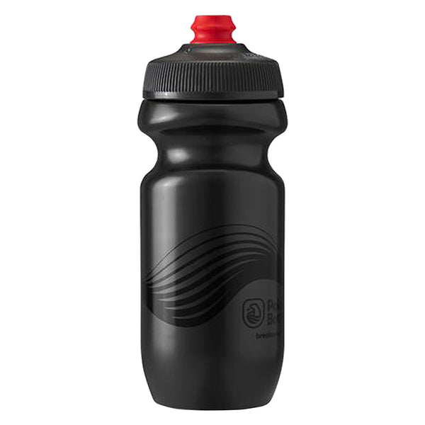 POLAR BOTTLE POLAR BREAKAWAY 20oz WAVE CHARCOAL/BK
