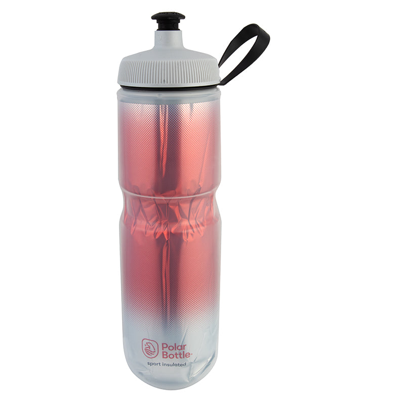 POLAR BOTTLE POLAR SPORT INSULATED 24oz FADE RD/SL