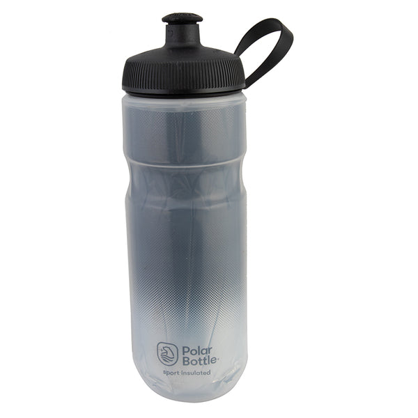 POLAR BOTTLE POLAR SPORT INSULATED 20oz FADE CHARCOAL/SL