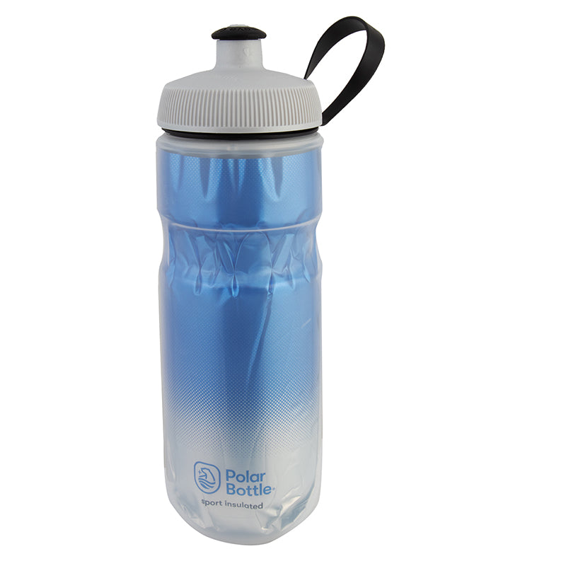 POLAR BOTTLE POLAR SPORT INSULATED 20oz FADE ROYAL-BU/SL