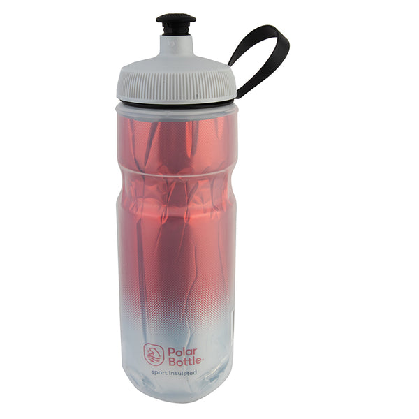 POLAR BOTTLE POLAR SPORT INSULATED 20oz FADE RD/SL