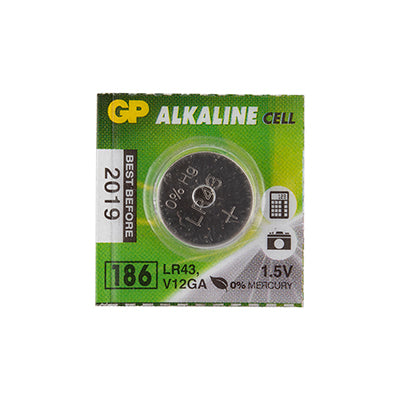 BATTERIES BATTERY MAXELL LR43 / LR1142 1.5