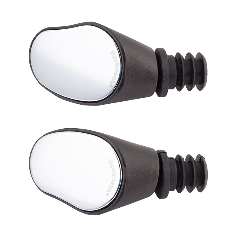 SPRINTECH MIRROR SPRINTECH DROP BAR-PAIR L&R BLK