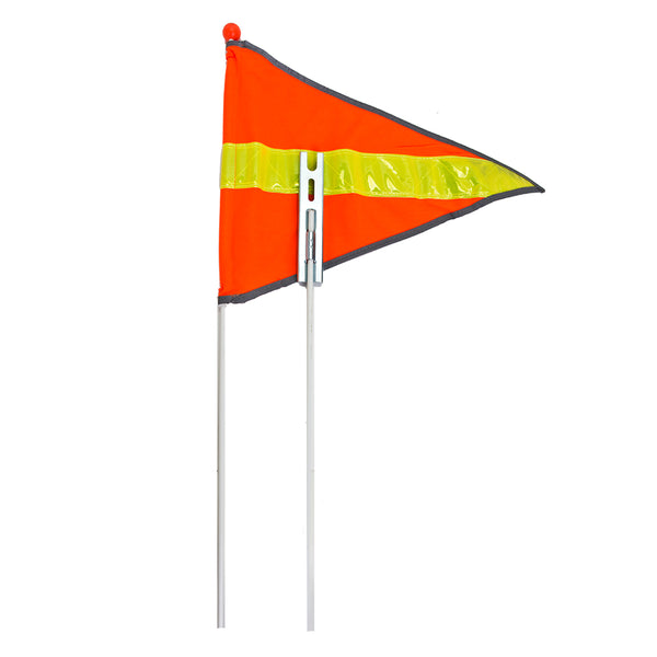 SUNLITE SAFETY FLAGS 2pc SUNLT 72in REFLECTIVE