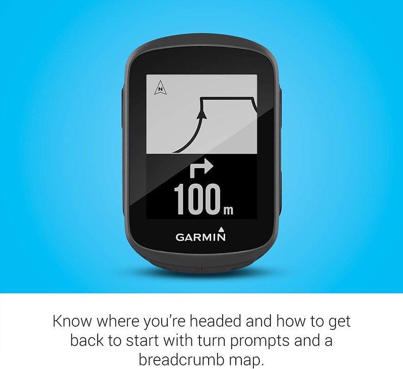 Garmin Edge 130 Plus Bundle, GPS Cycling/Bike Computer with Sensors and HR Monitor, Download Structure Workouts, ClimbPro Pacing Guidance and More