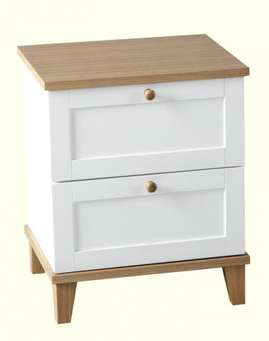 Arcadia 2 Drawer Bedside Chest