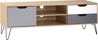 Bergen 1 Door 2 Drawer TV Unit