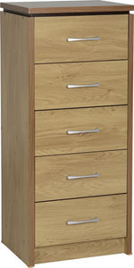Charles 5 Drawer Narrow Chest