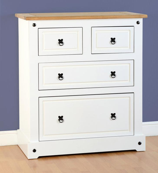 Corona 2+2 Drawer Chest