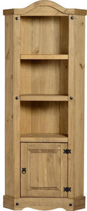 Corona Corner Unit - Distressed Waxed Pine