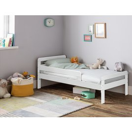 Ellis White Toddler Bed Frame Only