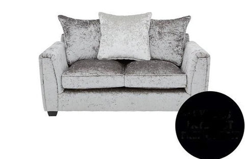 Glitz 3-Seater + 2-Seater Fabric Sofa Set