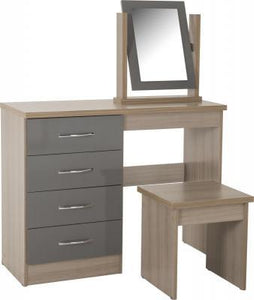 Nevada 4 Drawer Dressing Table Set Search 4 Furniture