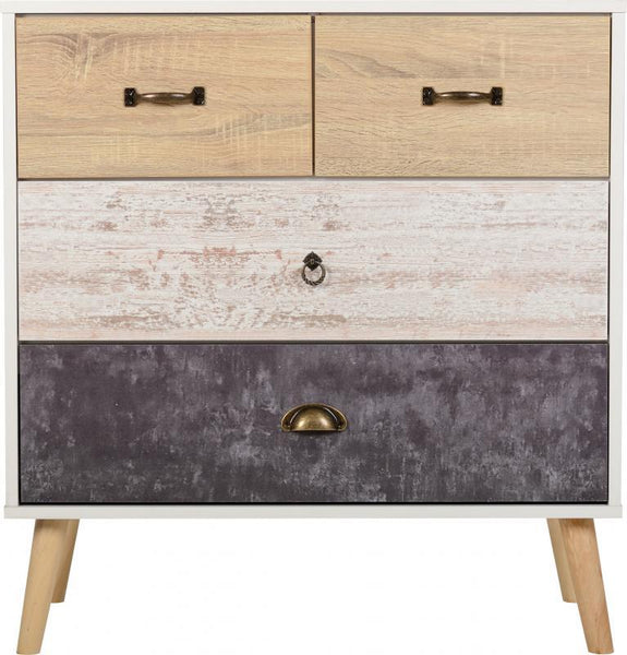 Nordic 2+2 Drawer Chest