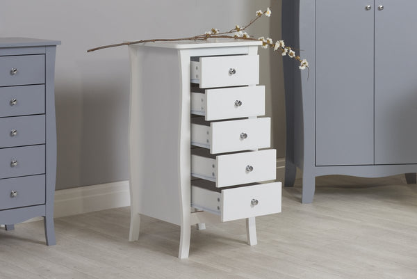 Paris 5 Drawer Chest