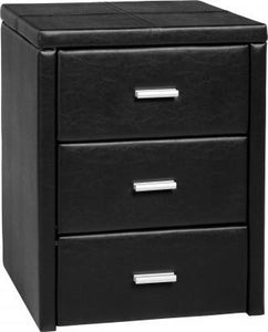 Prado 3 Drawer Bedside Chest