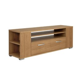 Renzo 2 Drawer TV Unit with Side Storage