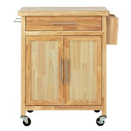 Tollerton Wooden Kitchen Trolley