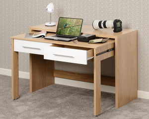 Seville 2 Drawer Slider Desk