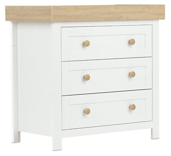 Lulworth White Chest with Detachable Changer