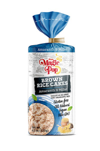 KIM'S MAGIC POP Brown Rice Cakes Amaranth & Millet Flavor-Kim's Magic Pop