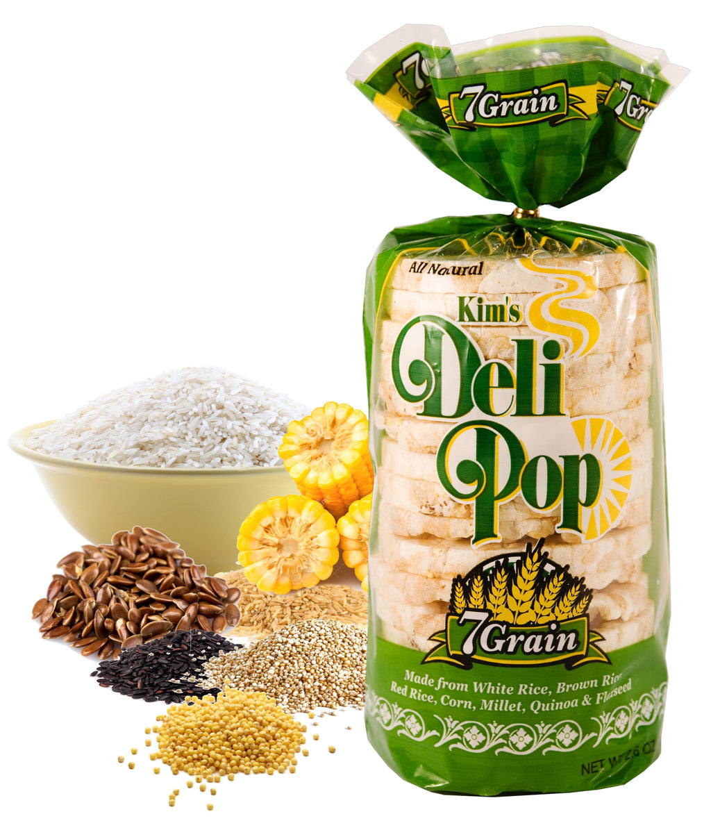 KIM'S MAGIC POP Deli Pop 7-Grain Flavor (Gluten Free)