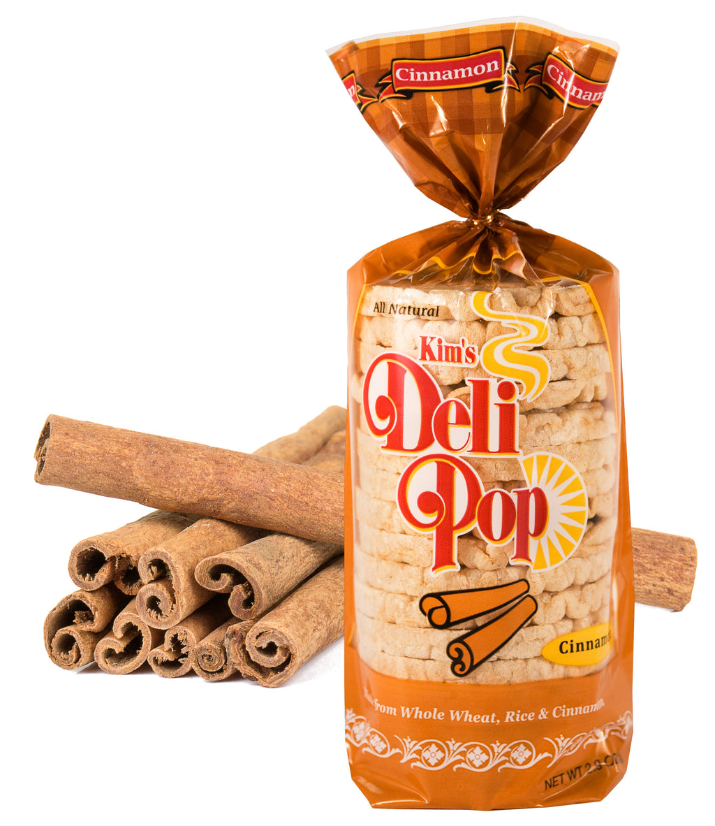 KIM'S MAGIC POP Deli Pop Cinnamon Flavor