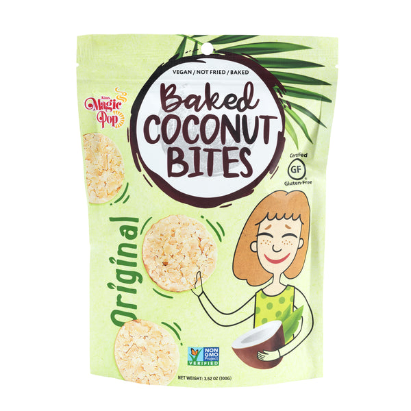 Kim's Magic Pop Coconut Snack Bites Original Flavor-Kim's Magic Pop