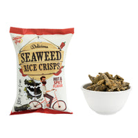 KIM'S MAGIC POP Seaweed Rice Crisps Hot & Spicy Flavor-Kim's Magic Pop