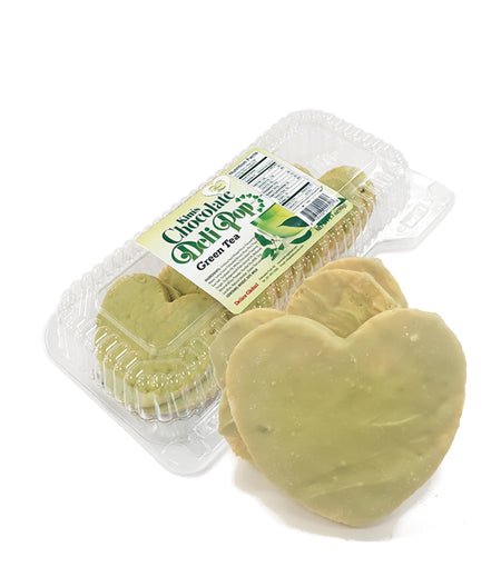 ♥Heart Green Tea - Kim's Chocolate Deli Pop - 8 cases