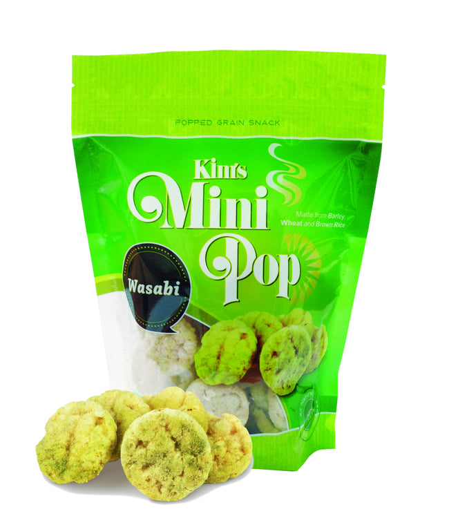 Kim's Mini Pop Wasabi Flavor