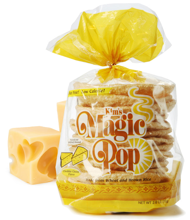 Kim's Magic Pop Cheddar Cheese Flavor