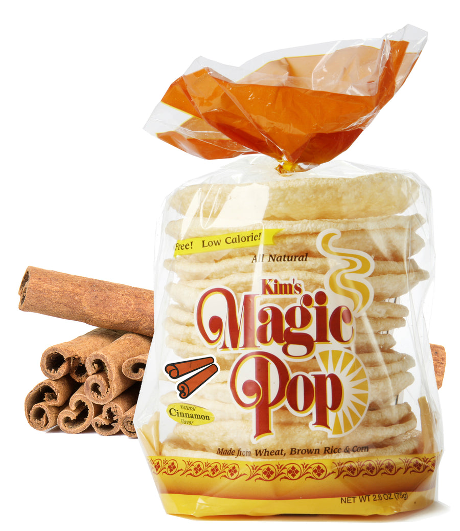 Kim's Magic Pop Cinnamon Flavor