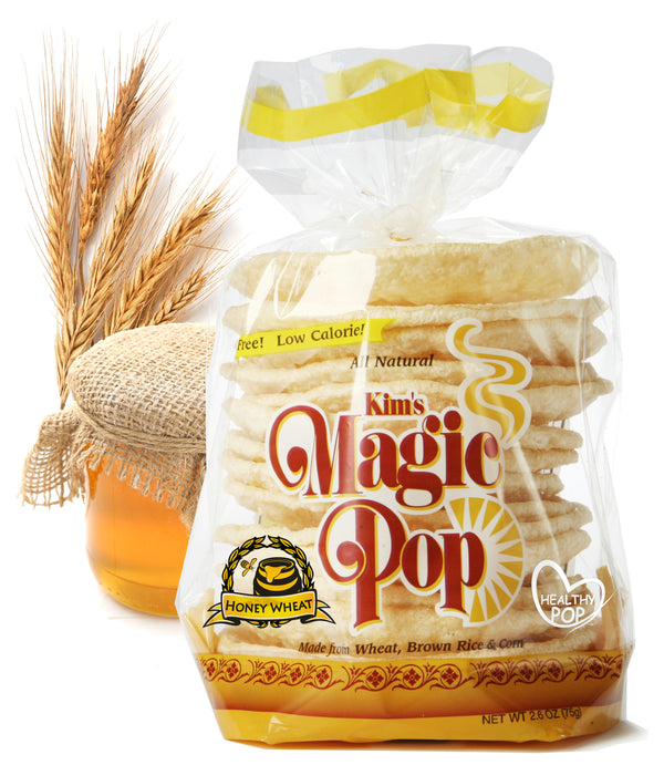 KIM'S MAGIC POP Honey Wheat Flavor-Kim's Magic Pop